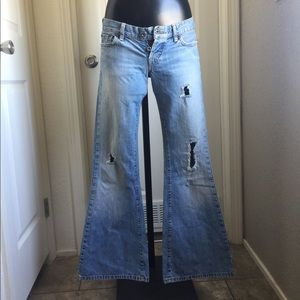 Vintage 00'S Flared Lucky Jeans  Size 4/27